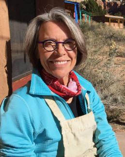 Lynda Young Kaffie at Ghost Ranch, October 2020